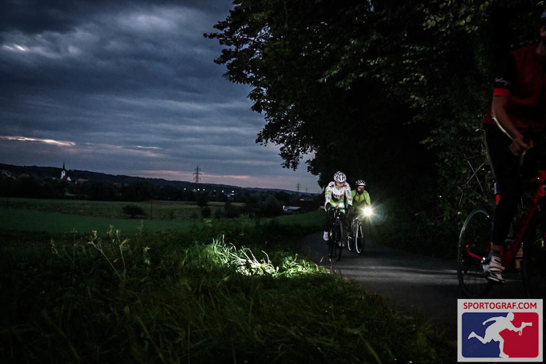Anja in der Nacht angekommen, Hitzendorf