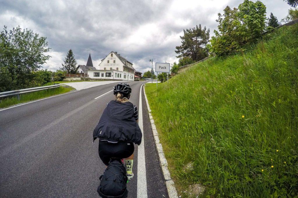 Bikepacking zum Großglockner: Auf der Pack angekommen