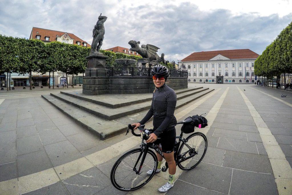 Bikepacking zum Großglockner: In Klagenfurt am Wörthersee wird übernachtet