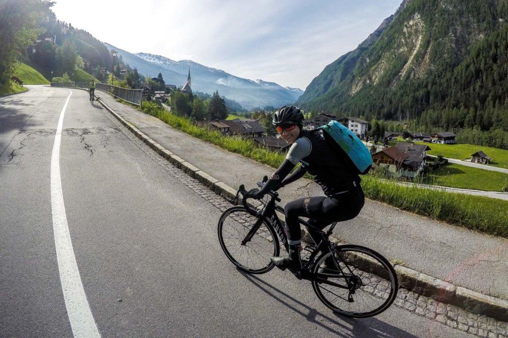 Bikepacking auf der Großglockner Hochalpenstraße zum Hochtor, Rennrad, Kärnten