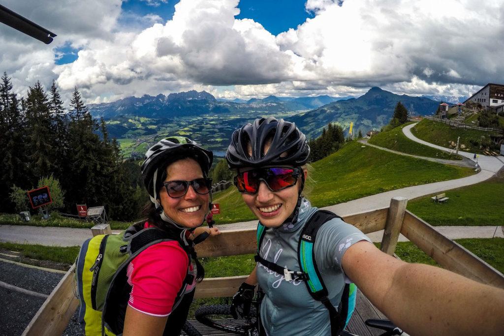 Mountainbiken, Mountainbike-Tour, Kitzbühel, Mausefalle, Streif, Schwarzsee, Kitzbüheler Horn