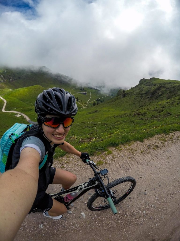 Mountainbiken, Mountainbike-Tour, Kitzbüheler Horn, Kitzbühel, Raintal, Uphill