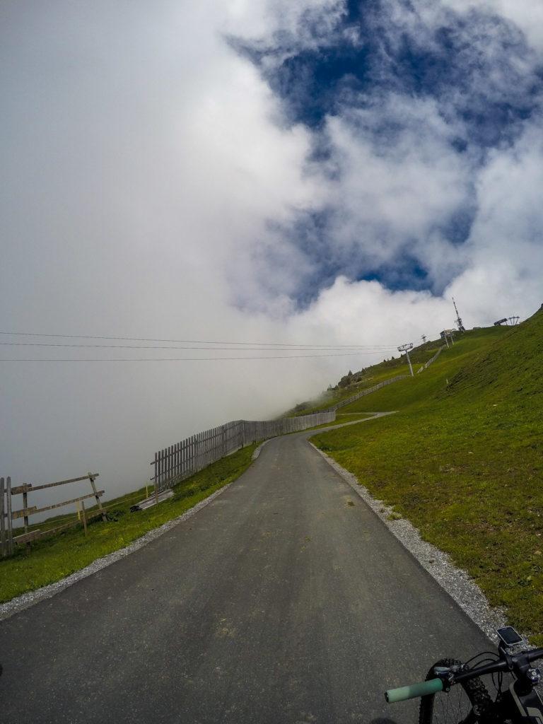 Mountainbiken, Mountainbike-Tour, Kitzbüheler Horn, Kitzbühel, Gipfel
