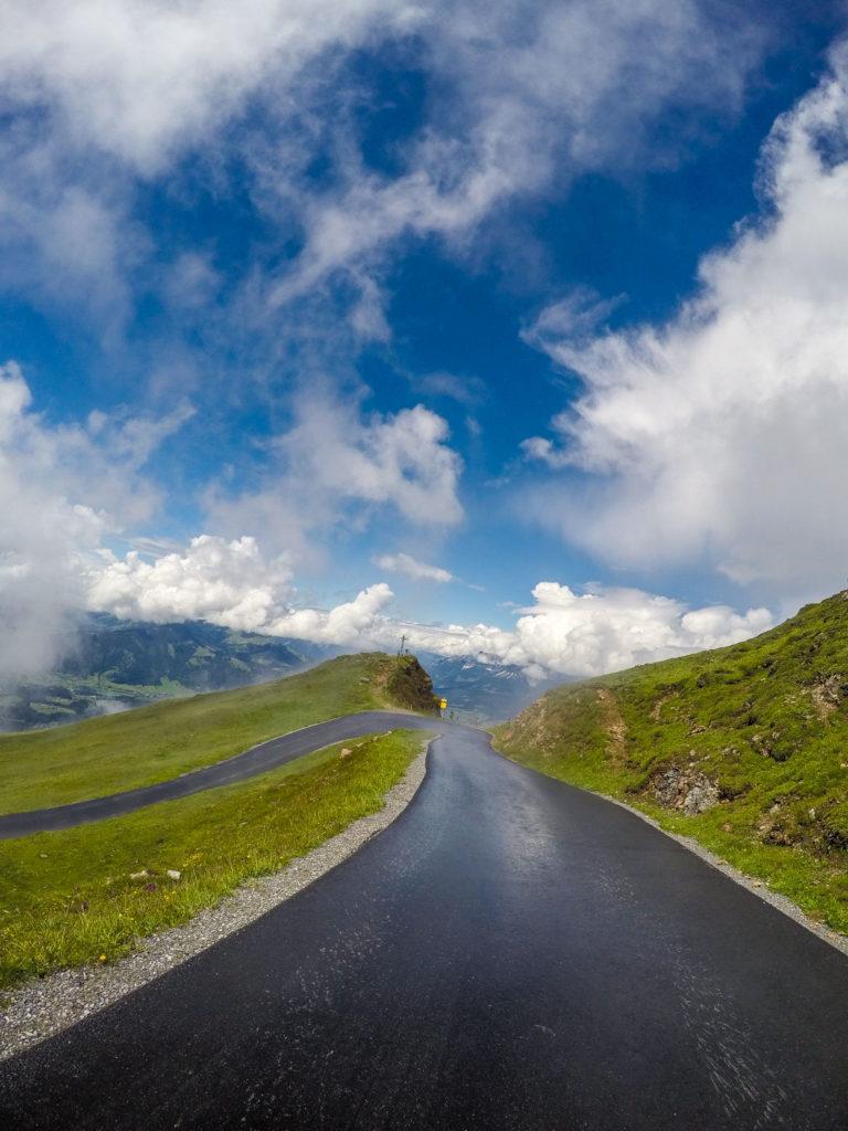 Mountainbiken, Mountainbike-Tour, Kitzbüheler Horn, Kitzbühel, Kitzbüheler Horn Straße