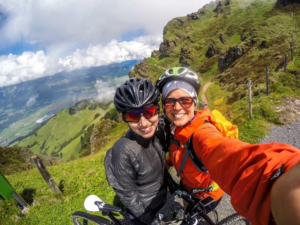 Mountainbiken, Mountainbike-Tour, Kitzbüheler Horn, Kitzbühel, Panorama Kitzbüheler Horn, Kitzbüheler Horn Straße