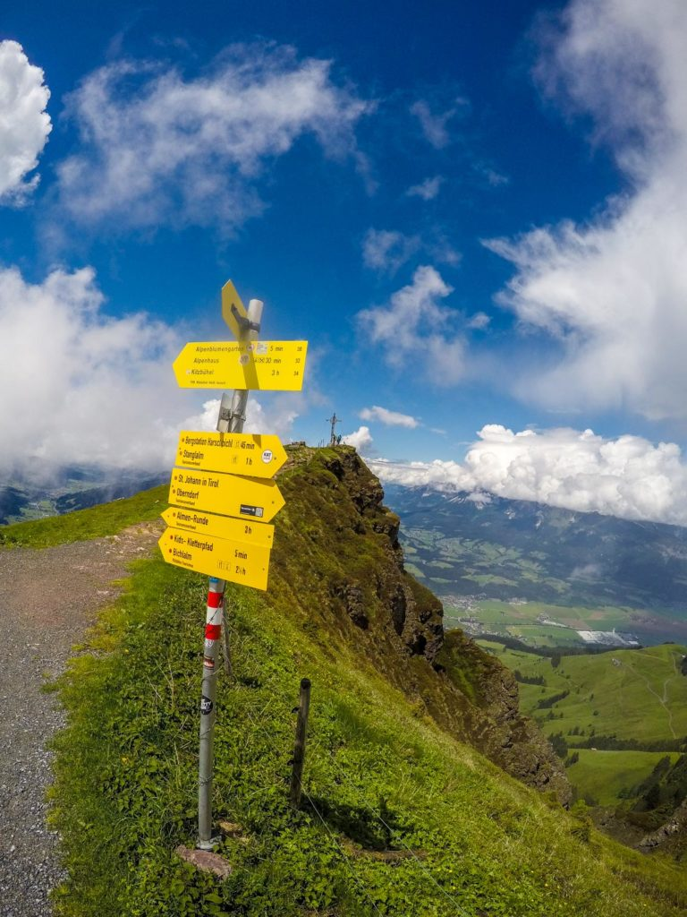 Mountainbiken, Mountainbike-Tour, Kitzbüheler Horn, Kitzbühel, Panorama