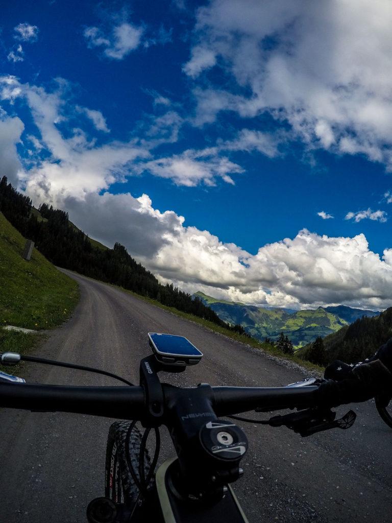 Mountainbiken, Mountainbike-Tour, Kitzbühel, Streif, Mausefalle