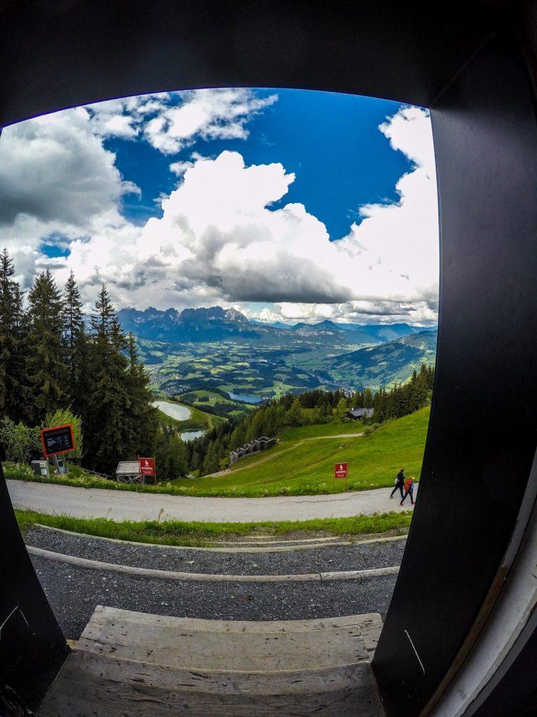 Mountainbiken, Mountainbike-Tour, Kitzbühel, Streif, Mausefalle, Starthaus