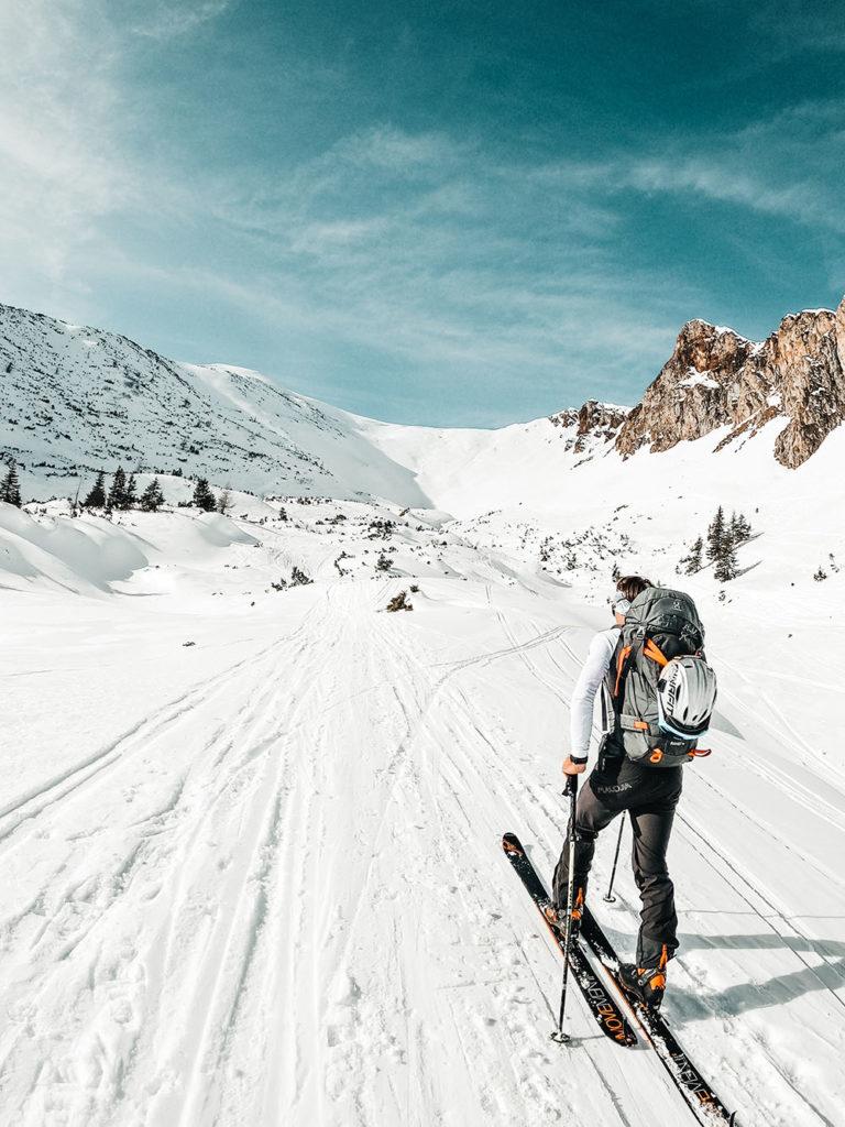 Skitour, Leobner, Gscheideggkogel, Eisenerzer Alpen, Steiermark, basecampas, Bergtour