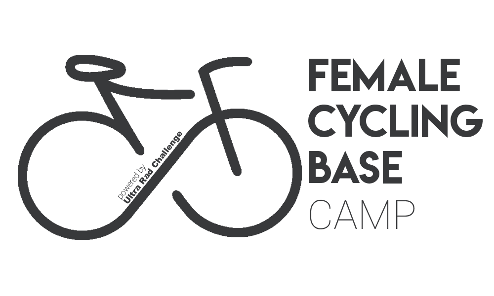 Logo Female Cycling Basecamp powered by Ultra Rad Challenge
