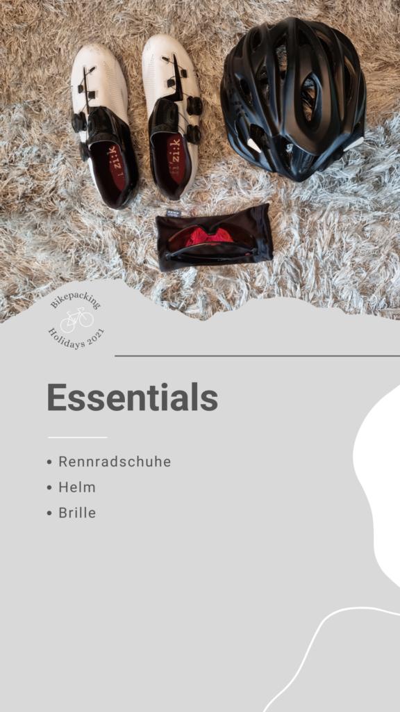Bikepacking Packliste: Essentials